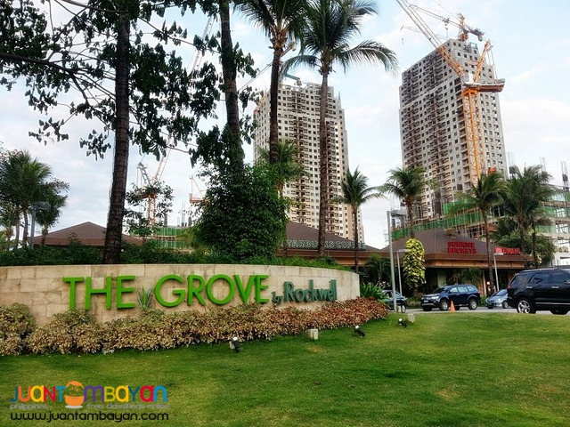 FOR SALE! 1 Bedroom Condo, The Grove by Rockwell in C5 Pasig