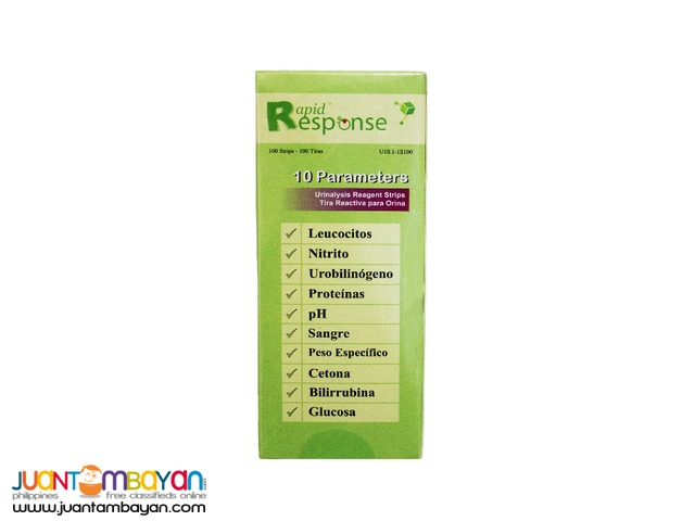 10 Parameter Urinalysis Reagent Strips