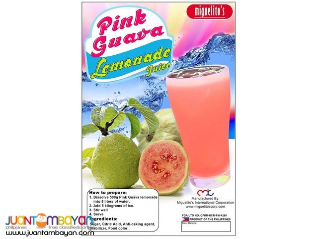 Pink Guava Premix