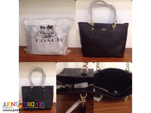 Coach PVC Tote Bag