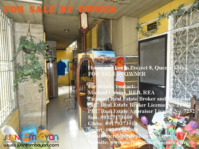 House and Lot in Quezon City For Sale Project 8 nr Road 20 5 BR