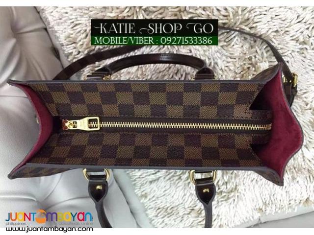 Louis Vuitton Damier Ebene Sac Plat Bag