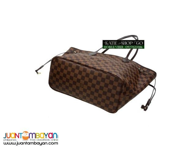 Louis Vuitton Damier Ebene Neverfull MM w/ Pouch