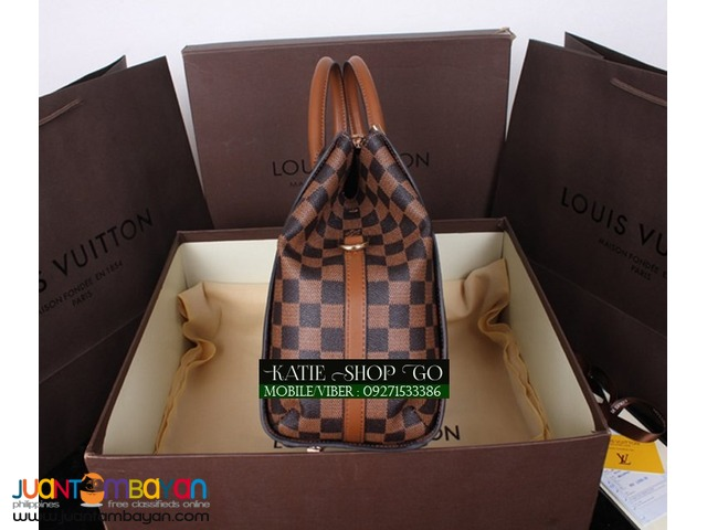 LOUIS VUITTON GREENWICH DAMIER EBENE BAG