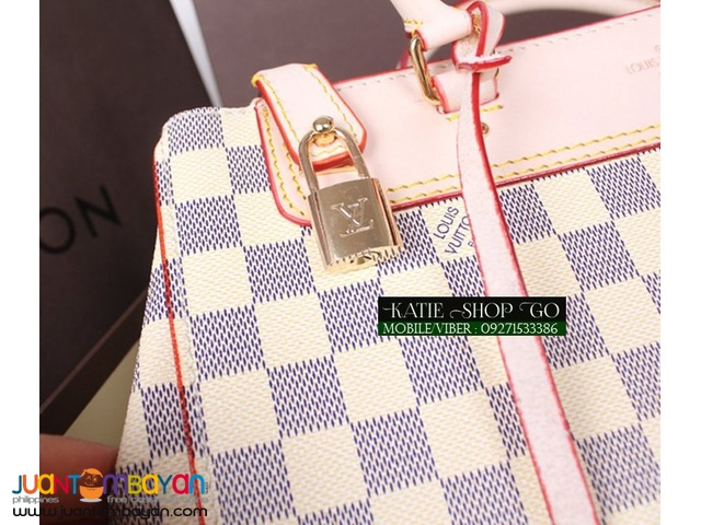 LOUIS VUITTON GREENWICH DAMIER AZUR BAG