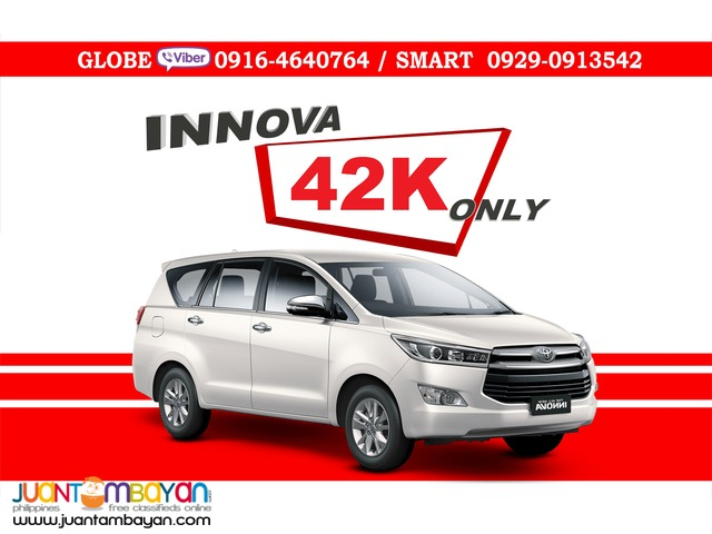 2016 Toyota Innova 2.8 J DSL MT Manual Diesel - 42K Only All In Promo