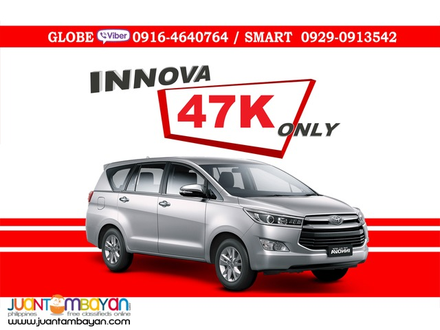 2016 Toyota Innova 2.8 E Dsl AT Diesel Automatic 47K All In Promo