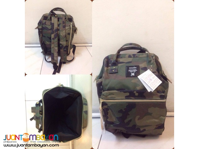 Anello Ring Backpack Canvas