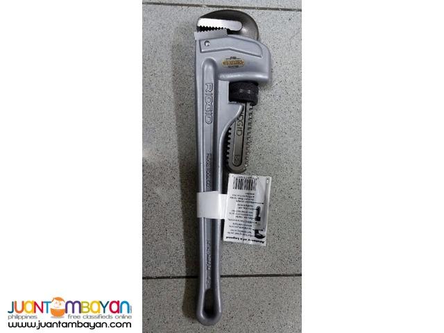 Ridgid 31095 14-Inch Aluminum Straight Pipe Wrench