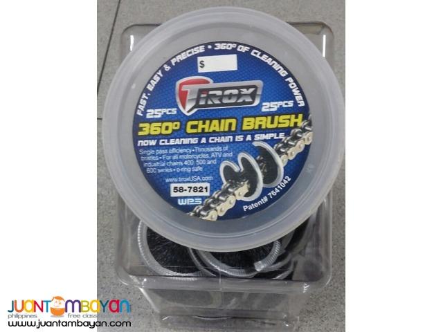 Tirox 803514 360 Degree Brush for Chain