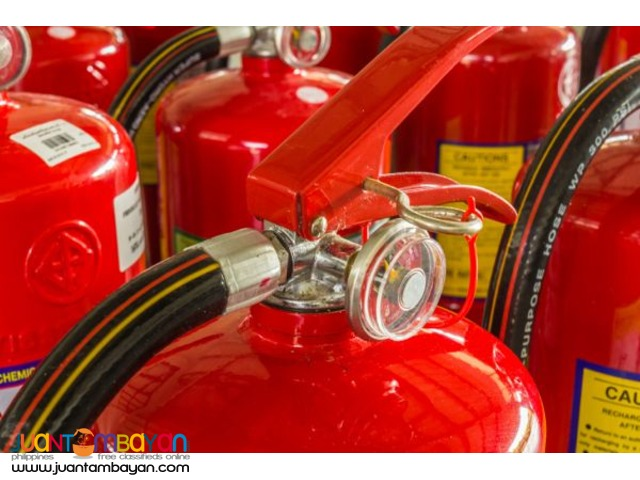 Fire Extinguisher Brand New and Refill Services