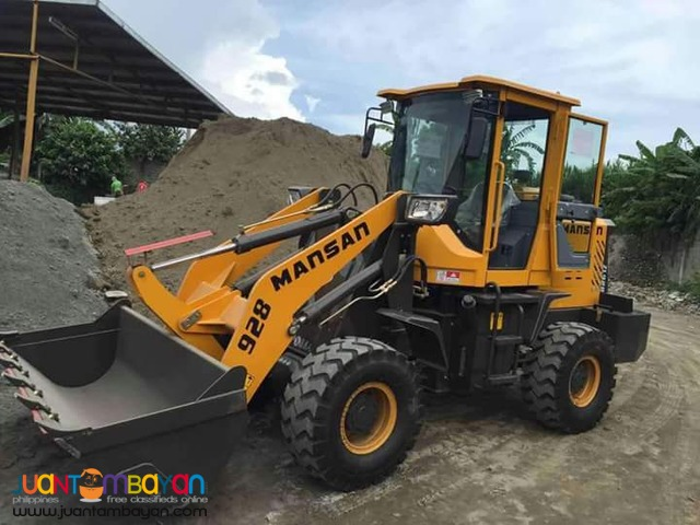 Our Latest Unit Mansan 928a (Two Way) Wheel Loader