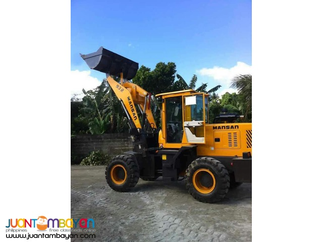 High Quality Mansan 932 Wheel Loader