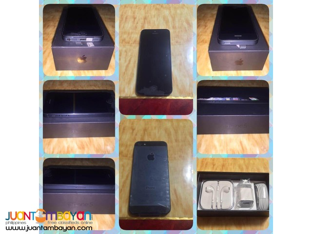 FOR SALE: iPhone 5 16 GB Black / White