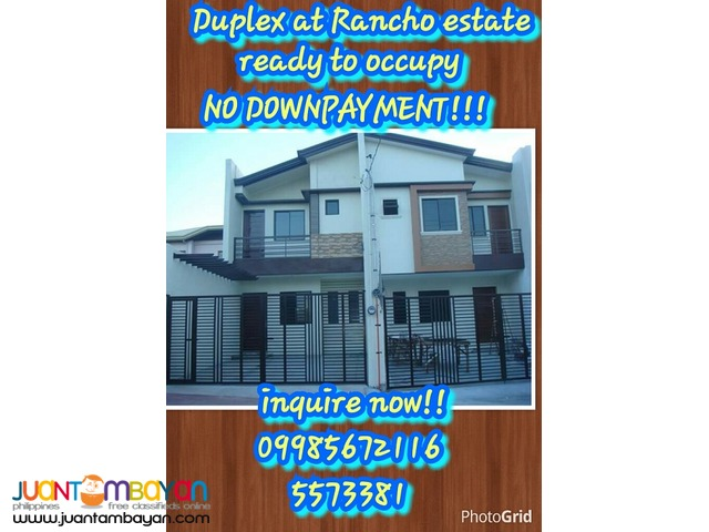 for sale Ready to occupy duplex house at Rancho estate marikina city