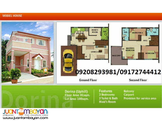 Preselling house and lot in Trece Martires Cavite City