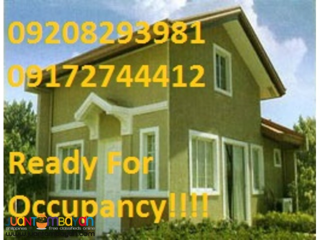 Ready for Occupancy house&lot in san pedro laguna