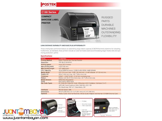 Postek - Barcode Printer - C168