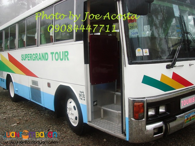 Tourist bus fo rent