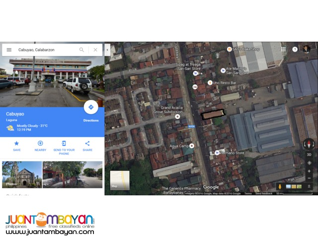 For Sale Cabuyao City Commercial with 3-Storey School Building