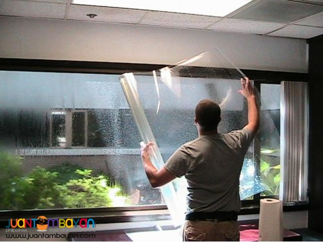 Glass Tinting and Sealing and Chandelier Cleaning Services