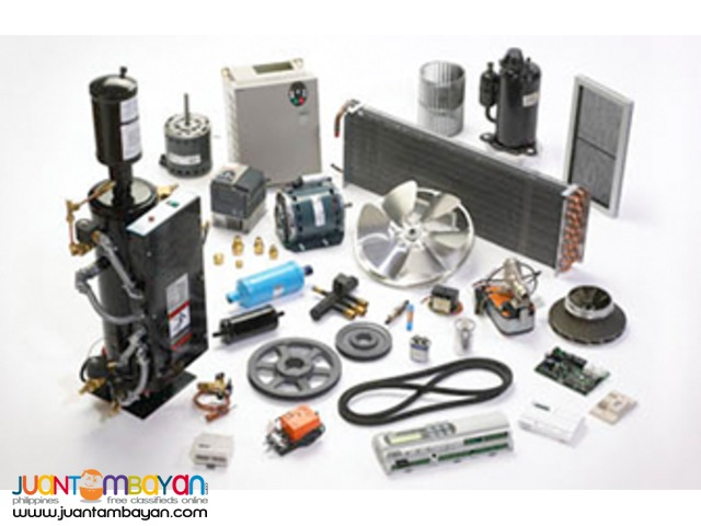 Aircon Parts Supply and Freon Charging