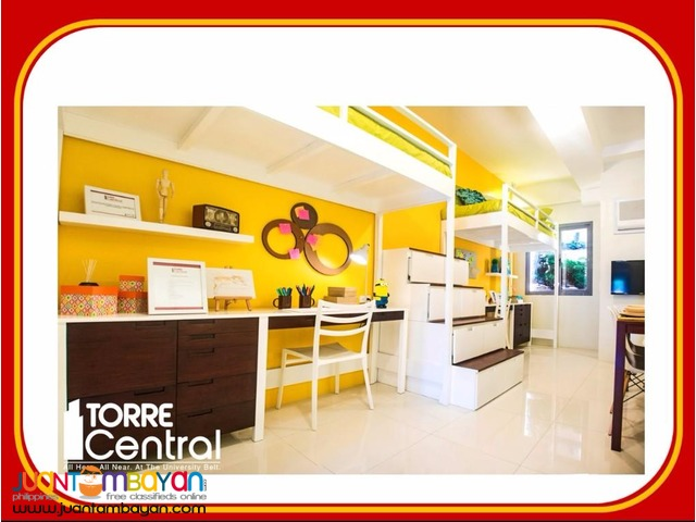 1br Fully Furnished Infront Of UST; Torre Central Condominium