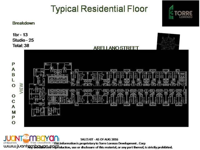 3 Torre Lorenzo Pre-selling condo near CSB and St. Scho