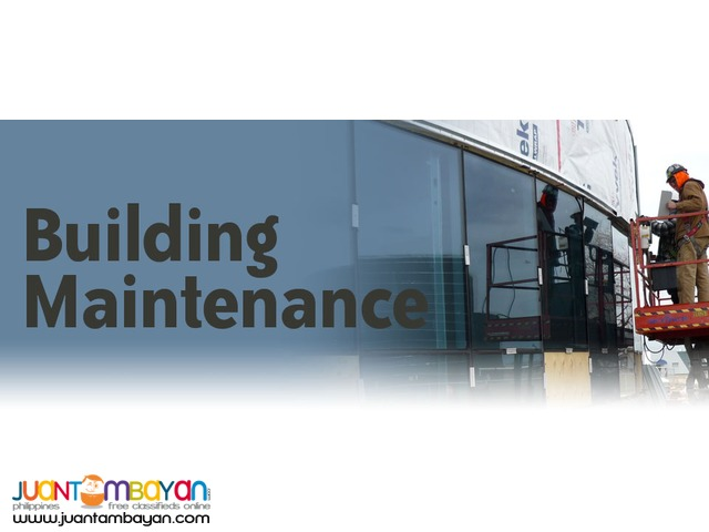 Window Cleaning, Building and Facility Maintenance
