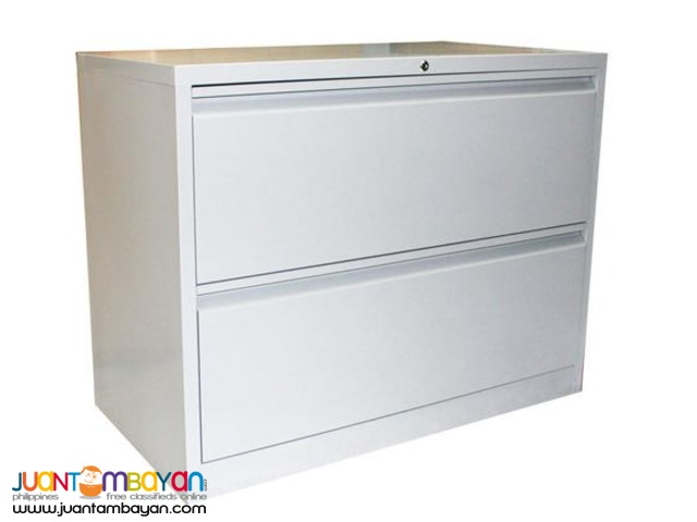 Lateral Filing Cabinet, 2 Drawers