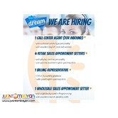 Sales/ Call Center/ Accounting
