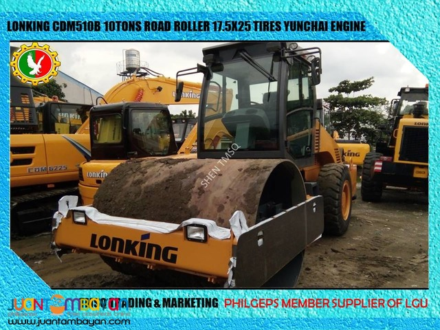 Brand New ROAD ROLLER / PIZON Lonking 10 Tons