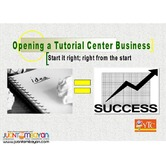Opening a Tutorial Center Business