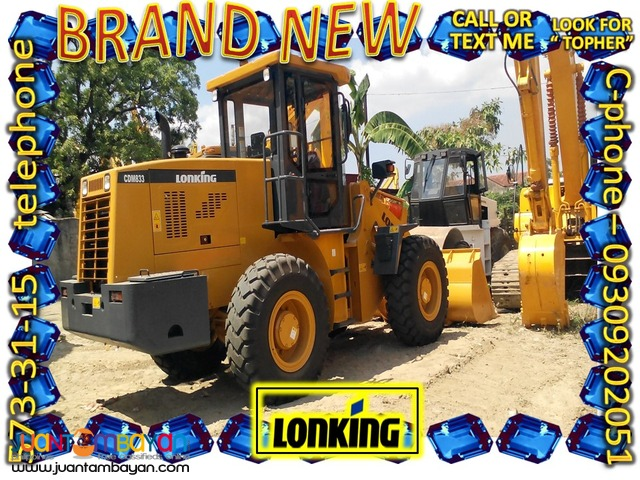 New CDM833 Lonking Wheel loader