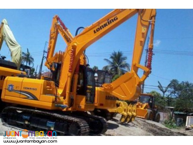 Lonking CDM6150 (Cummins-4BT) Backhoe Excavator