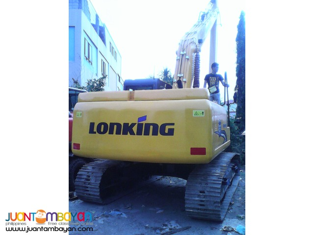 For Sale + CDM6235 Hydraulic Excavator + Lonking