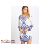 Women Long Sleeve Party Dress Evening Cocktail Casual Mini Dress XL