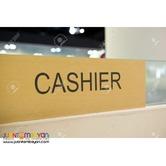 Urgent Cashier
