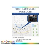 PRIME Food Cart Space for Lease in Marikina