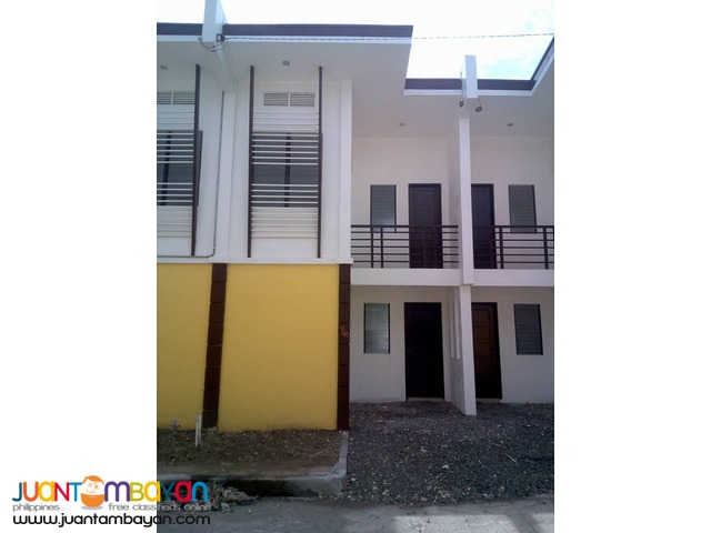Duplex house type 2 storey for rent p15k in minglanilla for Types of duplex houses