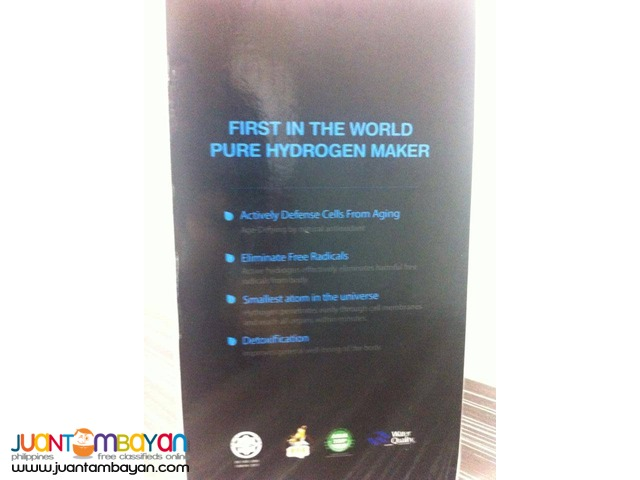 hydrogen water maker the miracle water