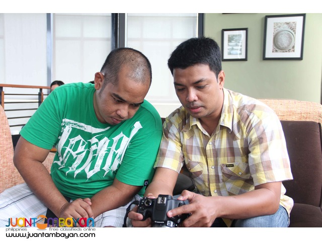 One on One, Group or Barkada Photography Tutorial