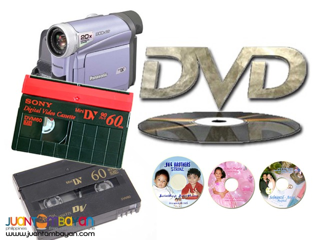 Video Transfer to DVD