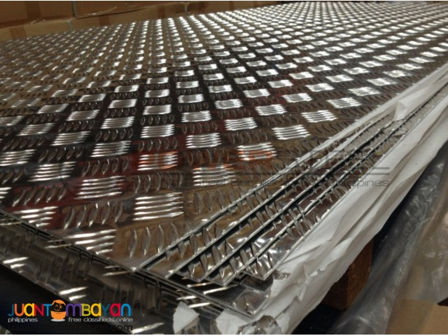 Supplier of Mild Steel Checkered in Davao