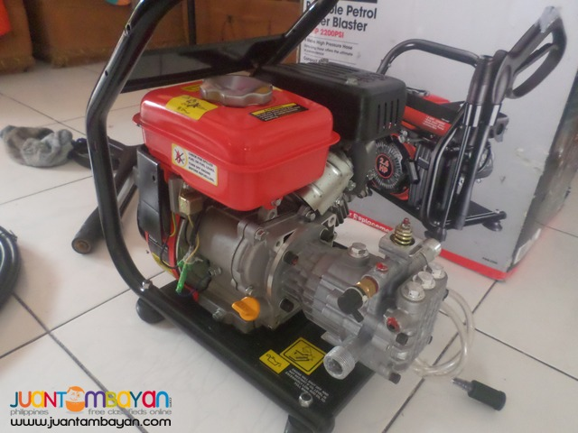 presure washer gasoline power 2200psi 2.6hp brandnew