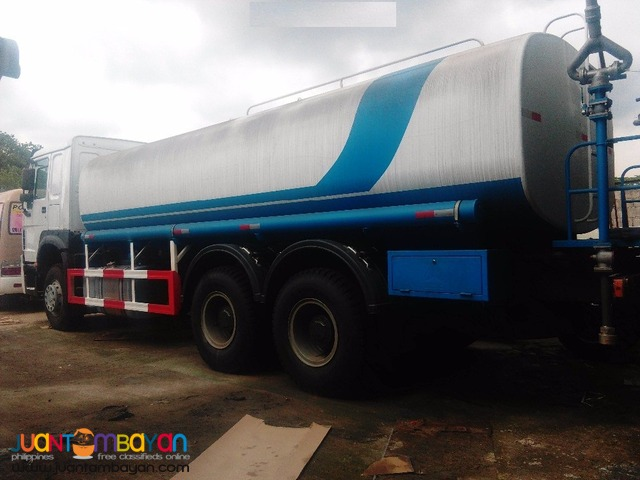 Sinotruk 10 wheeler water truck for sale