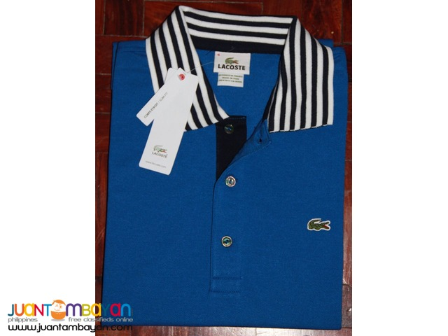eb539fd24239 LACOSTE POLO SHIRT FOR MEN - LACOSTE TIPPED PIQUE - SLIM FIT - BLACK Taytay