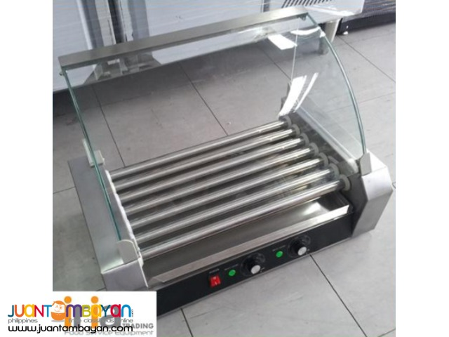 Hotdog Roller / Hotdog Griller with Glass Cover (for BUSINESS)