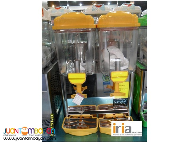 JUICE DISPENSER 2 TUBS (for SALE)