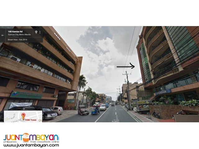Office residential Penthouse for sale Kamias Rd,Quezon City near EDSA